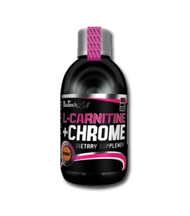 L-CARNITINE+CHROME LIQUID 500ml Pera-Mela