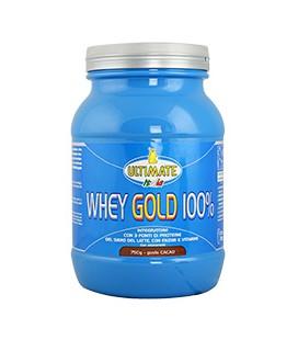 WHEY GOLD 100% 750g Cioccolato