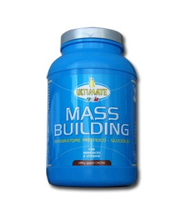 MASS BUILDING 1800g Cioccolato