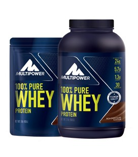 100% PURE WHEY PROTEIN 2000g Fragola