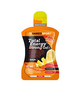 TOTAL ENERGY STRONG GEL 40ml Limone
