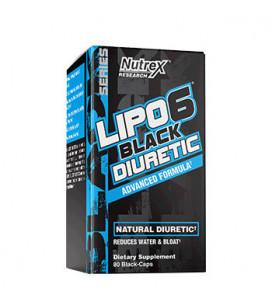 Lipo-6 Black DIURETIC 80cps