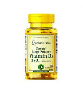 Vitamin D3 10,000 IU 100cps