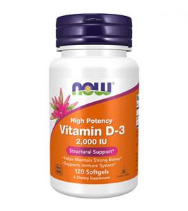 Vitamina D3 2000IU 120...