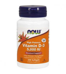 Vitamin D3 5000 IU 240cps