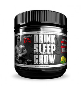 Drink Sleep Grow Nighttime...