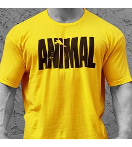 Animal Iconic T-Shirt Gialla