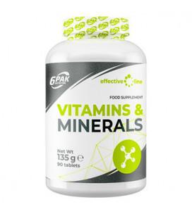 Vitamin & Minerals 90tab