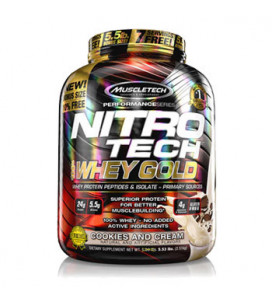 Nitro-Tech 100% Whey Gold...