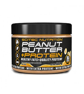 Peanut Butter +Protein 500g