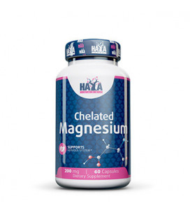 Magnesium Chelated 200mg 60cps