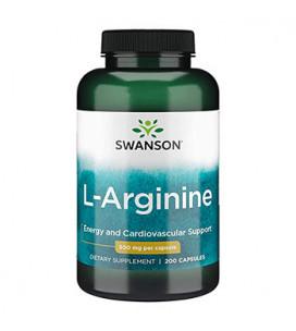 L-Arginine 500mg 200cps