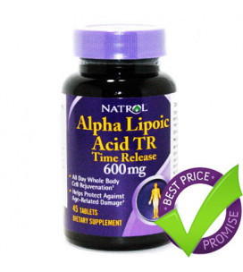 ALA 600mg Time Release 45cps
