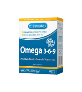 Omega 3-6-9 1000mg 60cps