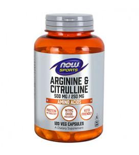 Arginine & Citrulline 120cps