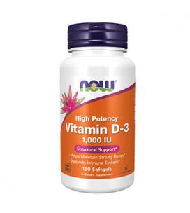 Vitamin D3 1000IU 180cps