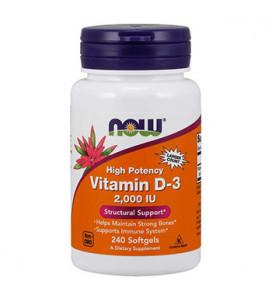Vitamin D-3 2000 IU 240cps