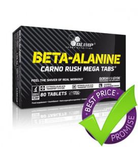 Beta Alanine Mega Caps 80cps