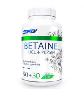 Betaine HCL + Pepsin 120tab