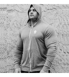 Animal Lightweight Hoodie Grey