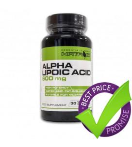 Alpha Lipoic Acid 600mg 30cps