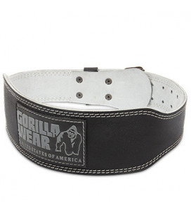 4 INCH Padded Leather Belt...