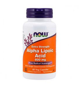 Alpha Lipoic Acid 600mg 60cps