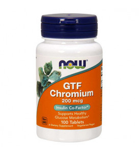 GTF Chromium 200mcg 100...