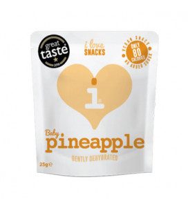 Dehydrated Baby Pineapple 25g