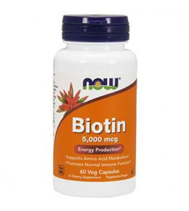Biotin 5000 mcg 60cps