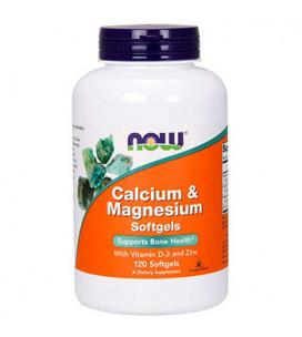 Calcium & Magnesium 120 cps