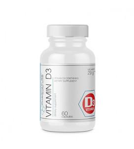 Vitamin D3 25mcg 60cps
