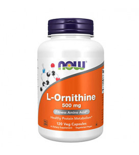 L-Ornitina 500mg 120cps