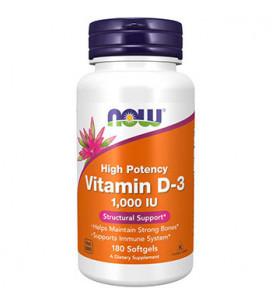 Vitamin D3 1000IU 120 Softgels