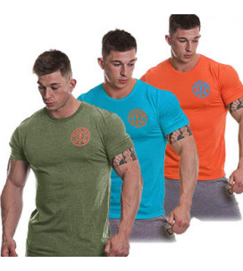 Gold's Gym T-Shirt Logo Chest