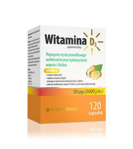 Vitamina D3 120 cps