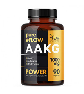 AAKG Pure Flow 1000mg 90cps