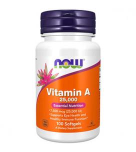 Vitamina A 25,000 IU 250...
