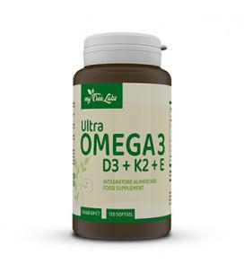 Ultra Omega 3 D3+K2+E 120 cps