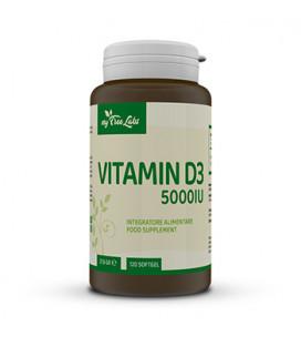 Vitamin D3 5000 IU 120 cps