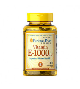 Vitamin E-1000 IU 100cps